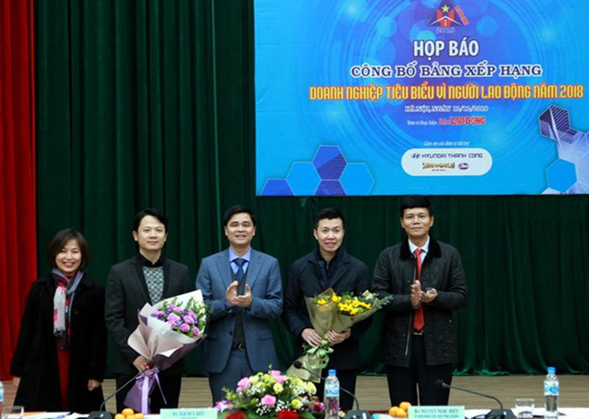 At the press conference (Photo: anninhthudo.vn)