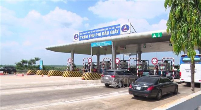 The Dau Giay toll station (Photo: VNA)