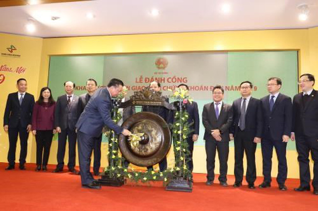 At the gong-beating ceremony (Photo: VNA)