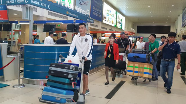 Passengers at Tan Son Nhat International Airport (Photo: mt.gov.vn)