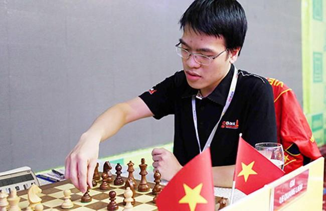 Le Quang Liem is ninth at the Dubai Open after four rounds. (Photo: webthethao.vn)