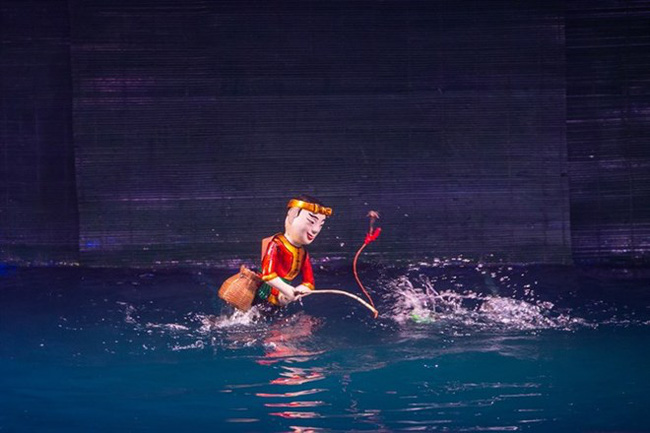 The Thang Long Puppetry Theatre will have a chance to perform Vietnamese water puppetry at the International Theatre Festival of Kerala in India (Photo courtesy of the organiser)