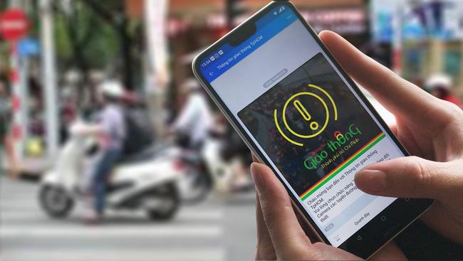 Người dân có thể phản ánh tình hình giao thông dịp Tết qua ứng dụng Zalo - ảnh 2
