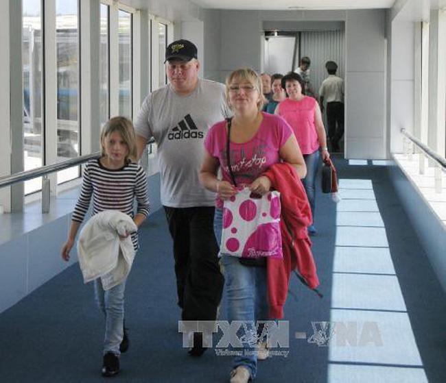 Du khách Nga đến Việt Nam đạt mức kỷ lục trong năm 2018