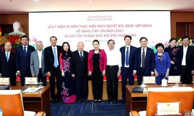 Chủ tịch Quốc hội dự Lễ kỷ niệm 10 năm đổi tên báo Đại biểu Nhân dân - ảnh 2