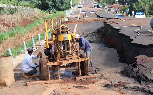 Công bố kết quả giám định nguyên nhân sự cố tuyến tránh thị trấn Chư Sê - ảnh 2