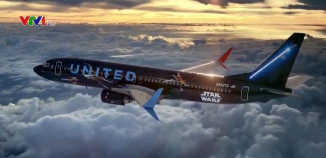 Máy bay của United Airlines theo chủ đề phim Star Wars - ảnh 4