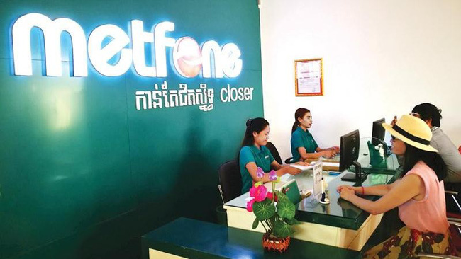 Metfone is one of Viettel's successful investment projects in Cambodia.