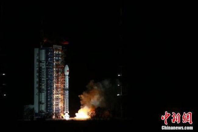 Trung Quốc phóng vệ tinh quan sát Trái Đất có độ phân giải cao - ảnh 1