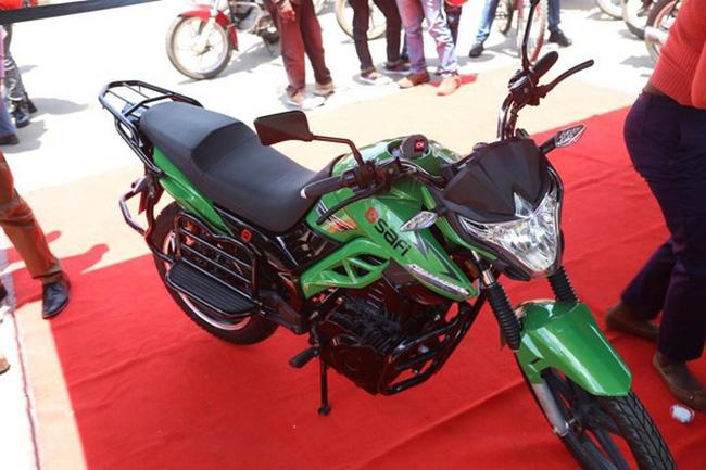 Ra mắt dịch vụ chia sẻ xe máy điện đầu tiên tại châu Phi - ảnh 1