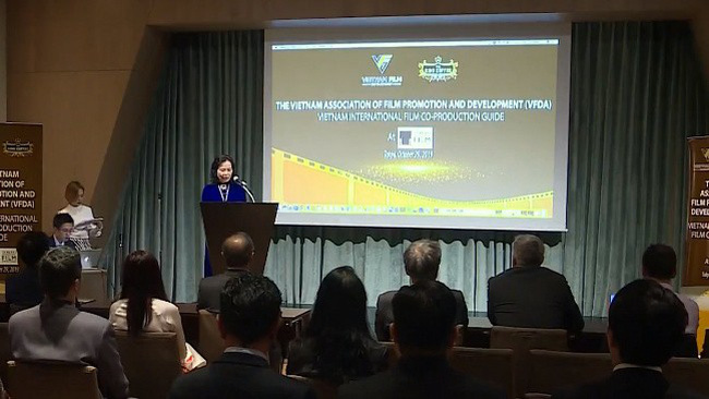The event was held by the Vietnam Association of Film Promotion and Development in Tokyo on October 29.