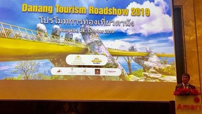 The roadshow to promote Da Nang's tourism in Bangkok