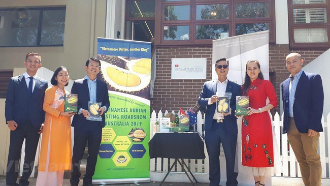 Vietnamese Consul General to Sydney Trinh Duc Hai launches the promotion campaign in Sydney. (Photo: Vietnam+)