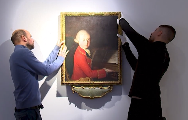 Đấu giá bức chân dung thời trẻ của nhà soạn nhạc thiên tài Mozart - ảnh 2