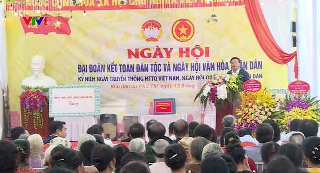 Ngày hội Đại đoàn kết toàn dân tộc tại Hưng Yên - ảnh 2