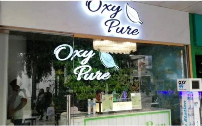 Quán bar bán... oxy sạch ở Ấn Độ - ảnh 3