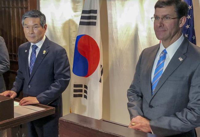 Mỹ, Hàn Quốc hoãn tập trận chung - ảnh 1