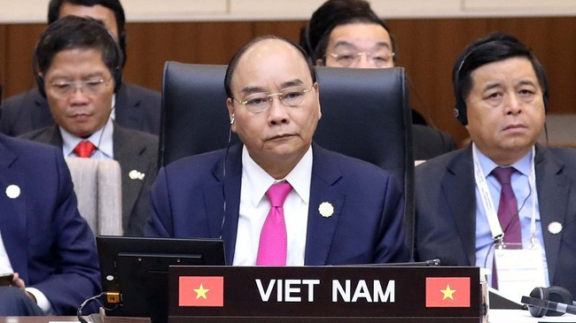 Prime Minister Nguyen Xuan Phuc at the ASEAN-RoK Commemorative Summit (Photo: VGP)