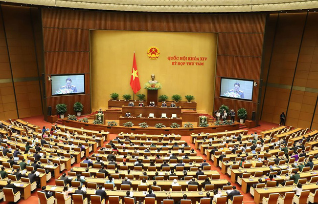 The eighth session of the 14th National Assembly wraps up in Hanoi on November 27 after 28 days of sitting. (Photo: VNA)