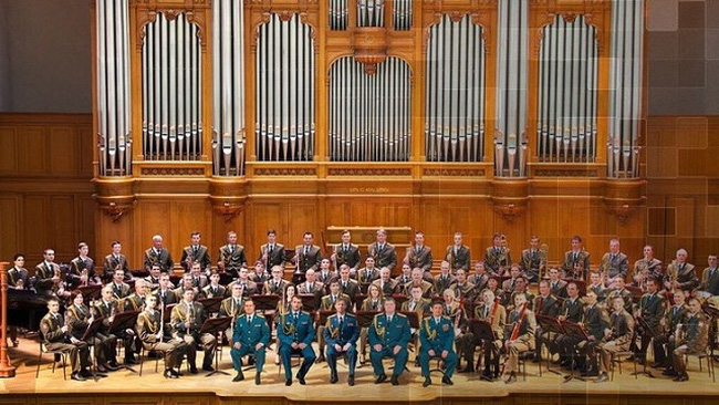 The Exemplary Band of the National Guard Forces of the Russian Federation. (Photo provided by the organisers)
