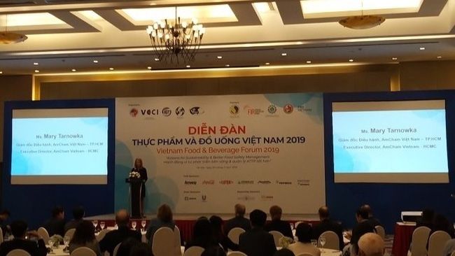 The Vietnam Food & Beverage Forum 2019 opens in Hanoi on November 25.