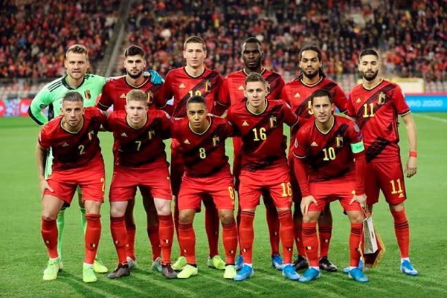 ĐT Bỉ là đội bóng số 1 thế giới của năm 2019   VTV.VN