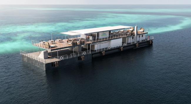 Ngắm nhìn khách sạn dưới nước đầu tiên của Úc - ảnh 6