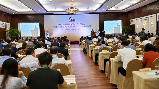 The conference of the Federation of ASEAN Pulp and Paper Industries in Da Nang