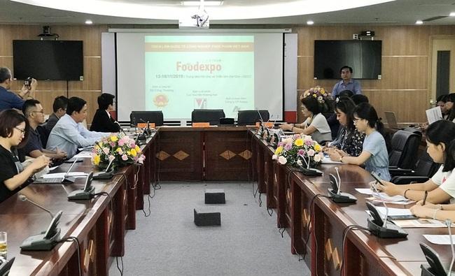 At the press conference (Photo: VGP)