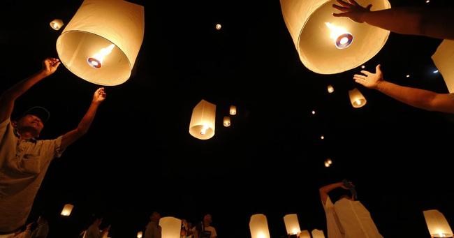 Lung linh lễ hội ánh sáng tại Myanmar - ảnh 2