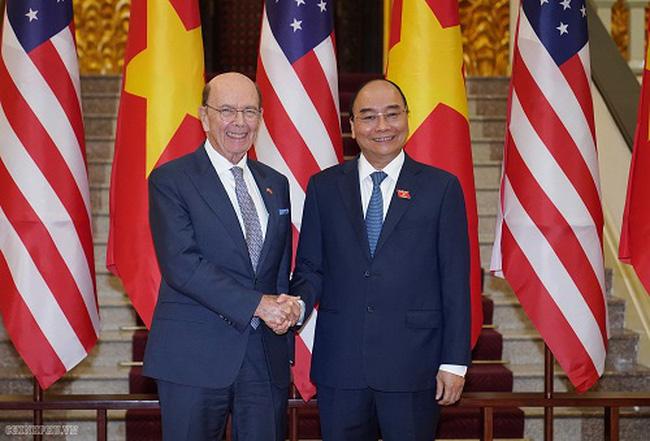 Thủ tướng Nguyễn Xuân Phúc tiếp Bộ trưởng Bộ Thương mại Hoa Kỳ - ảnh 2