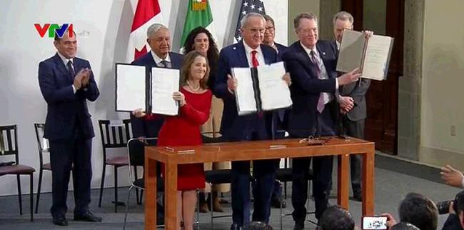 Mỹ, Mexico, Canada đạt thỏa thuận thay thế NAFTA - ảnh 2