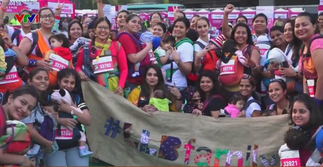 Hàng nghìn người tham gia cuộc thi Chạy vì ung thư vú tại Ấn Độ - ảnh 2