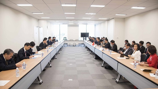 The Vietnam-Japan economic cooperation dialogue held in Tokyo on November 8, 2019. (Photo: VNA)