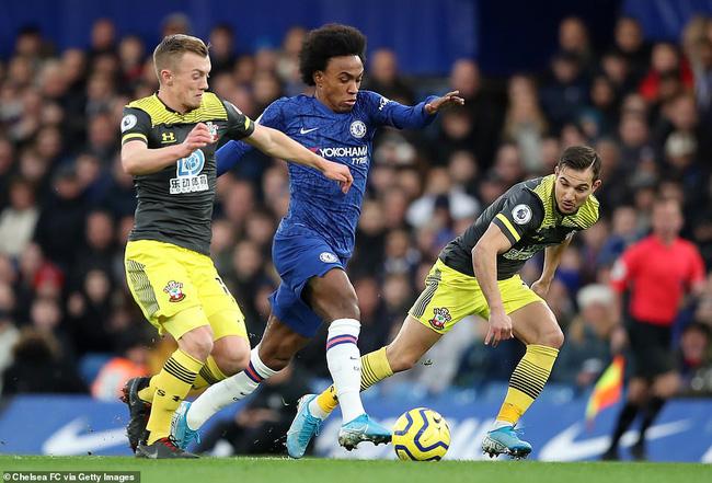 Chelsea 0 2 Southampton địa Chấn ở Stamford Bridge Vtv Vn