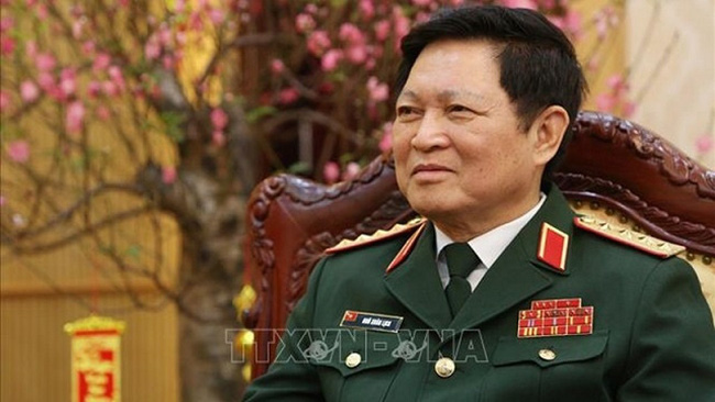 General Ngo Xuan Lich, Politburo member, Deputy Secretary of the Central Military Commission of the Communist Party of Vietnam and Minister of Defence. (Photo: VNA)