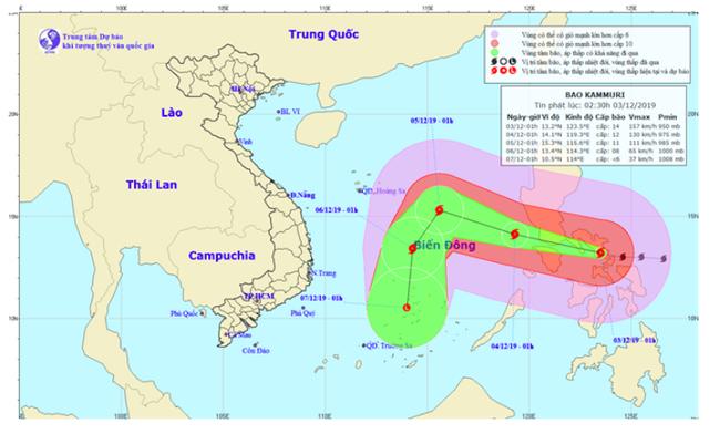 Triển khai các biện pháp ứng phó với bão Kammuri, áp thấp nhiệt đới và gió mùa Đông Bắc - ảnh 2