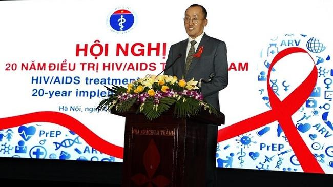 WHO Representative in Vietnam Kidong Park addresses the conference in Hanoi on December 4. (Photo: VNA)