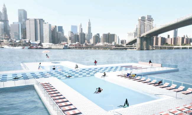 Bể bơi thông minh giúp lọc sạch nước sông - ảnh 2