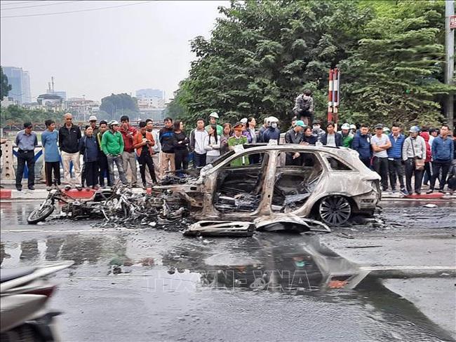 Khởi tố vụ án nữ tài xế xe Mercedes gây tai nạn thảm khốc ở Hà Nội - ảnh 2