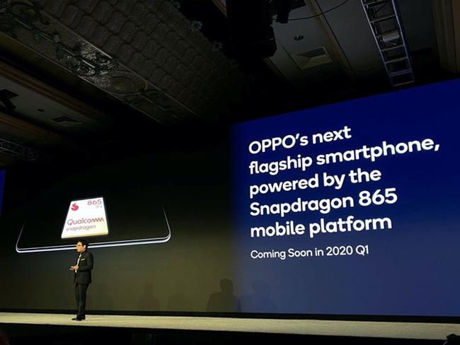 Oppo ra mắt smartphone 5G với chip Snapdragon 865 trong quý I/2020 - ảnh 2