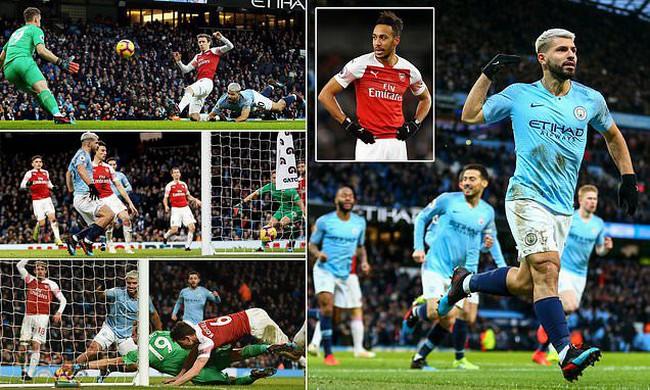 Video Highlight Trận đấu Man City 3 1 Arsenal Vong 25 Ngoại Hạng Anh Vtv Vn