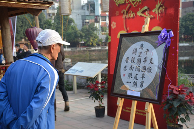 The festival attracts a large number of visitors. (Photo: qdnd.vn)