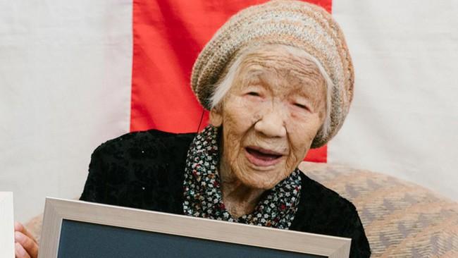 Cụ bà Nhật Bản trở thành người cao tuổi nhất thế giới - ảnh 1