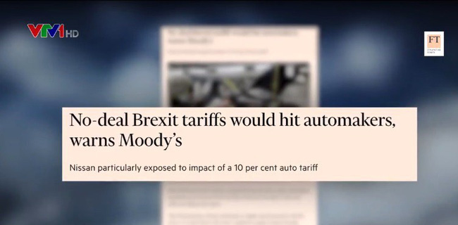 Tác động của Brexit không thỏa thuận với ngành công nghiệp ô tô - ảnh 1