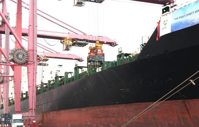 Đón tàu hàng 40.000 tấn cập cảng TP.HCM - ảnh 3