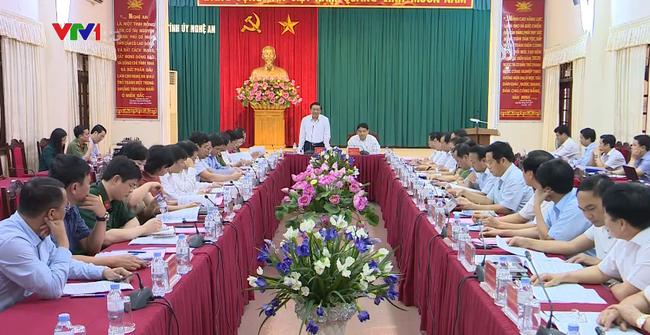 Tiểu ban Điều lệ Đảng Đại hội XIII làm việc tại tỉnh Nghệ An, Hà Nam - ảnh 2