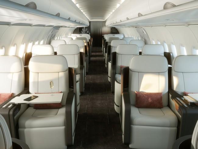 Hé lộ hình ảnh sang chảnh bên trong máy bay Airbus của Four Seasons - ảnh 7