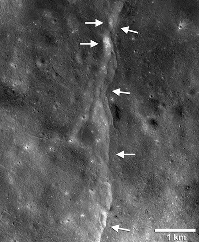 Mặt trăng đang dần co lại - ảnh 1