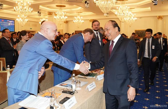Thủ tướng mong các doanh nghiệp Nga – Việt hợp tác nhiều hơn nữa - ảnh 1